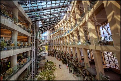 Публичная библиотека Солт-Лейк-Сити , США.