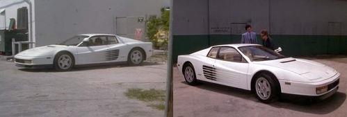 Ferrari Testarossa, сериал Miami Vice