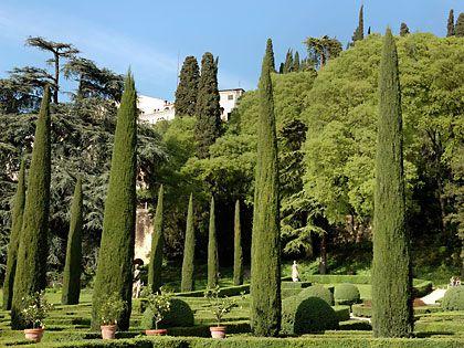 Сад Джусти, Италия