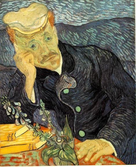 Портрет доктора Гаше, Винсент Ван Гог