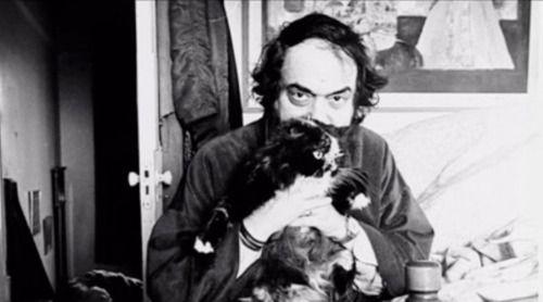 8. Стенли Кубрик и его кот