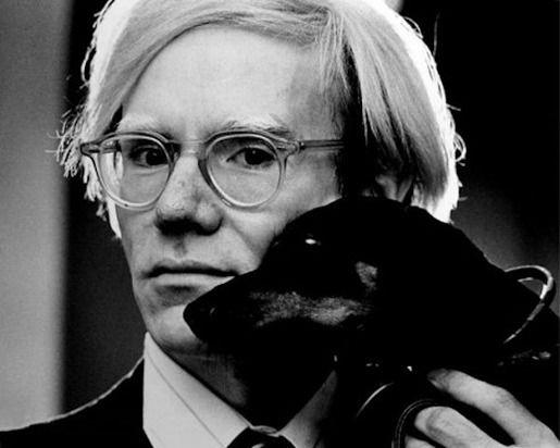 Энди Уорхол и его собака