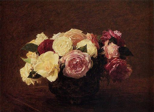 Анри Фантен-Латур Розы