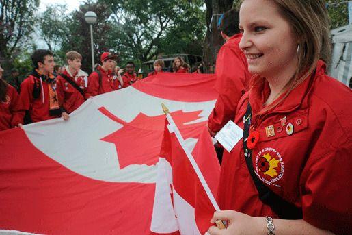 Студенты Канада