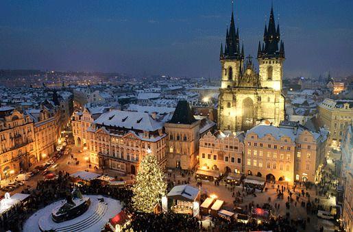 на Староместской площади -Прага