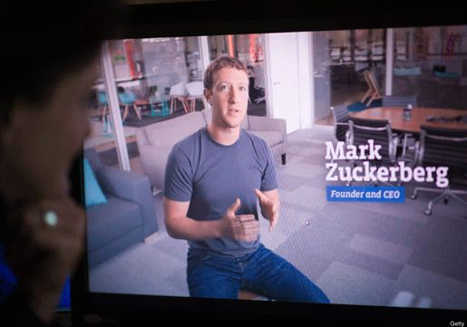 Цукерберг реклама
