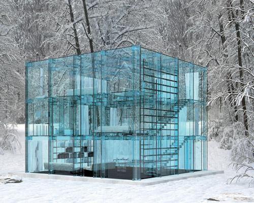 Стеклянный дом Милан