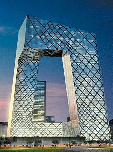 Штаб-квартира Центрального телевидения Китая, Пекин