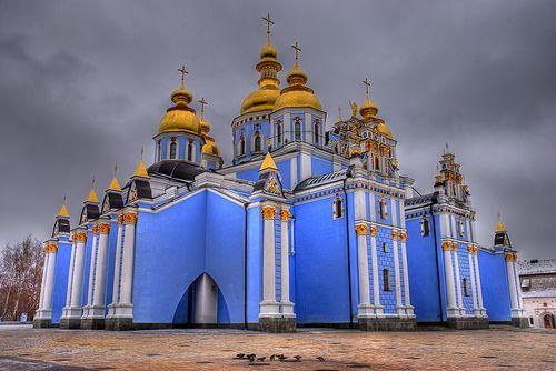 Михайловский Златоверхий собор, Украина