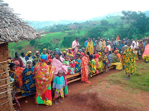 Бурунди бедность