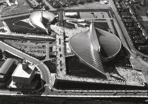 Национальный гимнастический зал к Олимпиаде в Токио