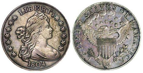 «Срібний долар 1804 року»