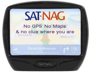 Голосова навігація (Sat Nav)