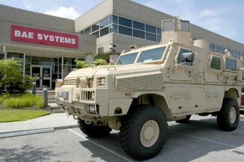 BAE Systems транспортер