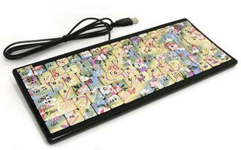 Японская клавиатура ручной работы