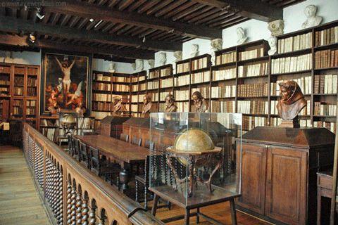Музейная библиотека Плантена-Моретуса, Антверпен, Бельгия