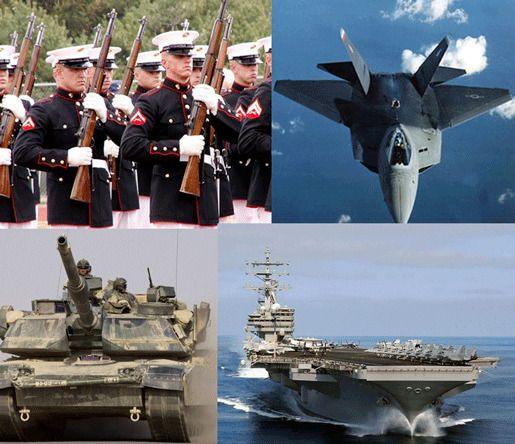 Расходы вооружения США