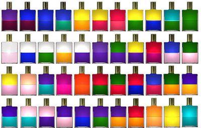 цветные бутылочки