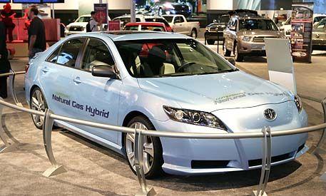 Toyota CNG Camry Hybrid