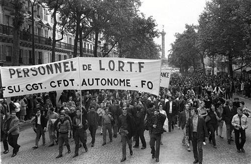 Май 1968-го года, Франция