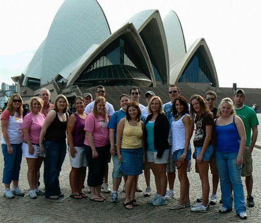 Студенты Австралия
