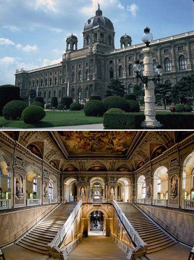 Музей естественной истории в Вене, Австрия