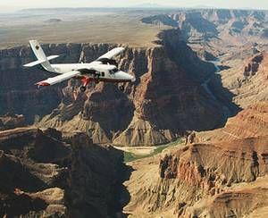 Політ над Великим каньйоном, Аризона, США