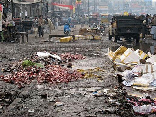 Пакистан загрязнение