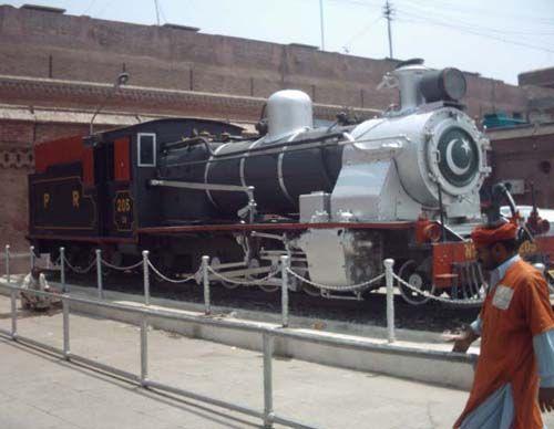 Лагорський залізничний вокзал