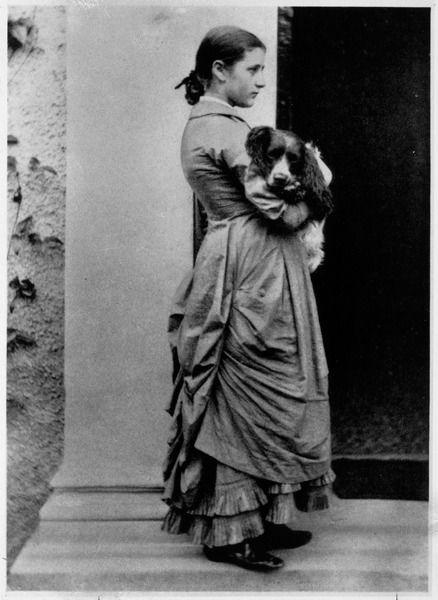 Беатрикс Поттер и ее овчарка