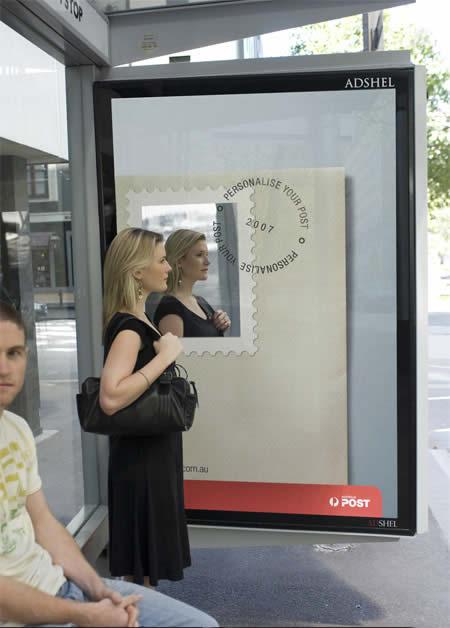 креативна автобусна зупинка