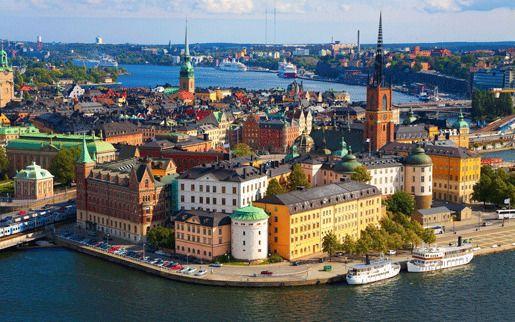 Швеция помощь