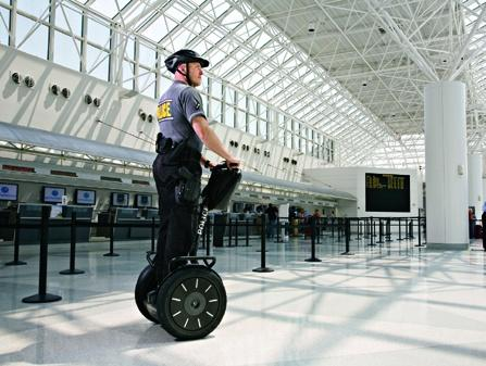 Segway i2 police transporter