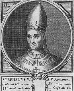 Папа Стефан VI