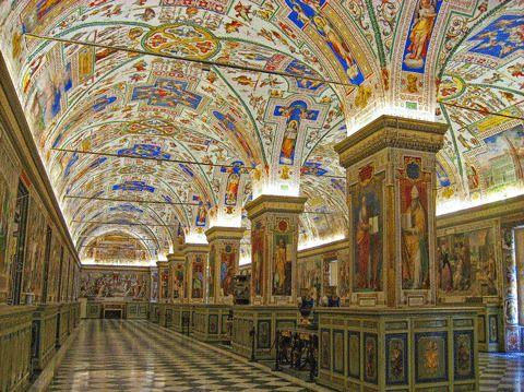 Библиотека Музея Ватикана, Ватикан
