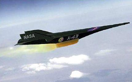 Надзвукові літаки (Hypersonic aircraft (scramjet)