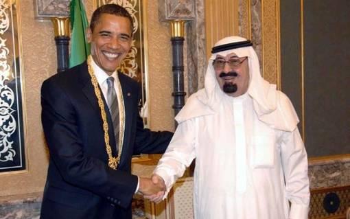 Король Абдулла, Саудовская Аравия