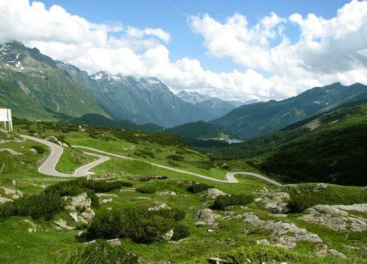 Перевал Сен-Бернардино, Швейцария