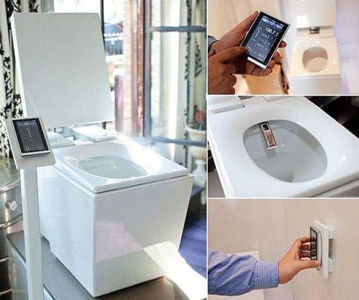 Туалетная система - The Kohler Numi
