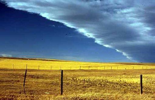 10. Ветер чинук в провинции Альберта, 1992 год