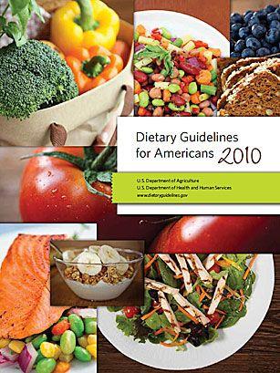 Новые рекомендации по здоровому питанию.