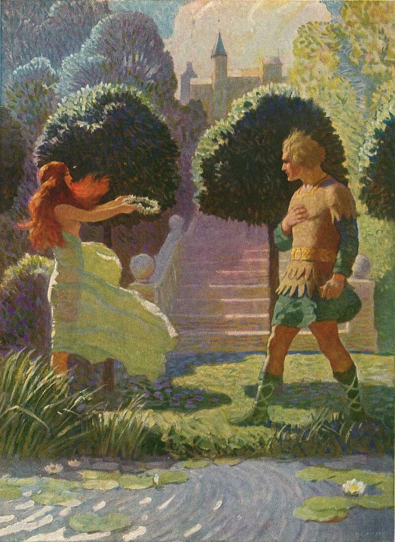 художник Н. К. Вейт