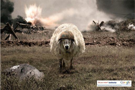 Реклама от Google овца