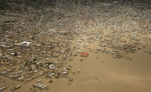Наводнение в Гаити