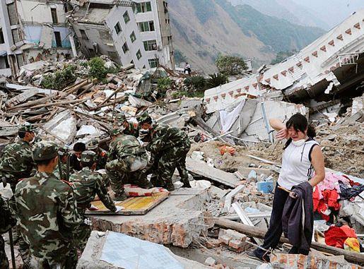 Землетрясение в провинции Сычуань, Китай