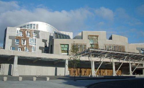 Шотландський парламент, Единбург, Шотландія