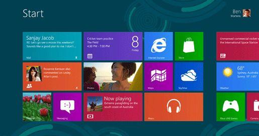 Новая Windows 8