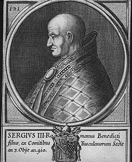 Сергий III