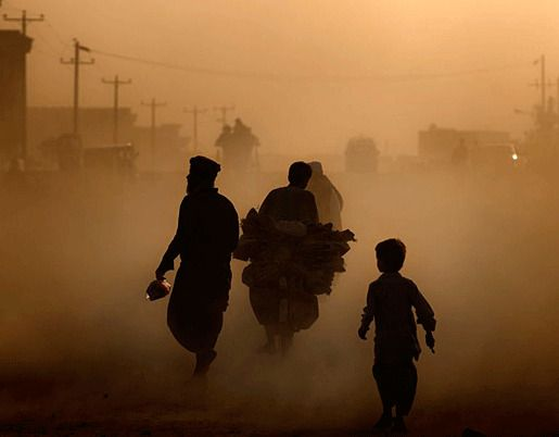 Афганистан загрязнение