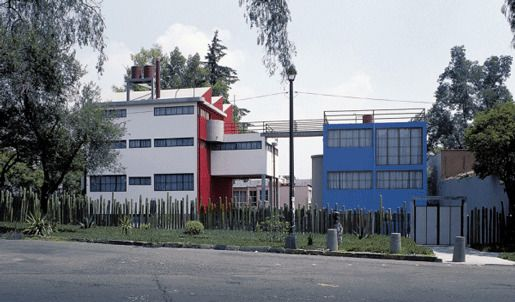 Дом-мастерская художников Диего Риверы и Фриды Кало